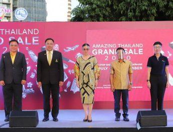 ททท.เปิดโครงการAmazing Thailand Grand Sale 2020 : NON STOP SHOPPING มุ่งกระตุ้นการใช้จ่าย ของนักท่องเที่ยวหลังวิกฤตโควิด-19