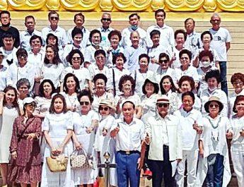 """สคทส.Thai Sangsan Institude นำ 60 นักธุรกิจ และสตาร์ทอัพทำบุญเนื่องใน""""วันแม่แห่งชาติ"""""""