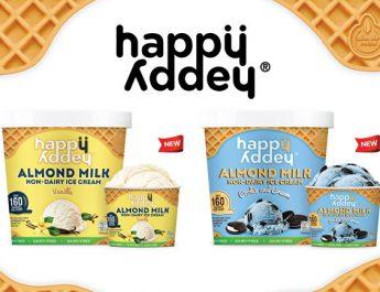 """137 ดีกรี ชวนลิ้มลองไอศกรีมเพื่อสุขภาพจากนมอัลมอนด์ แบรนด์ใหม่ """"แฮปปี้ แอดดี้"""""""