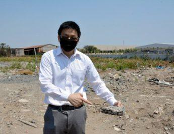 """บ.ฟอกหนังไทยรุ่งเรือง"""" ร้อง รมว.ทรัพย์ฯตรวจสอบมือดีนำกากอุตสาหกรรมฝังพื้นที่เทศบาลบางปู 52"""